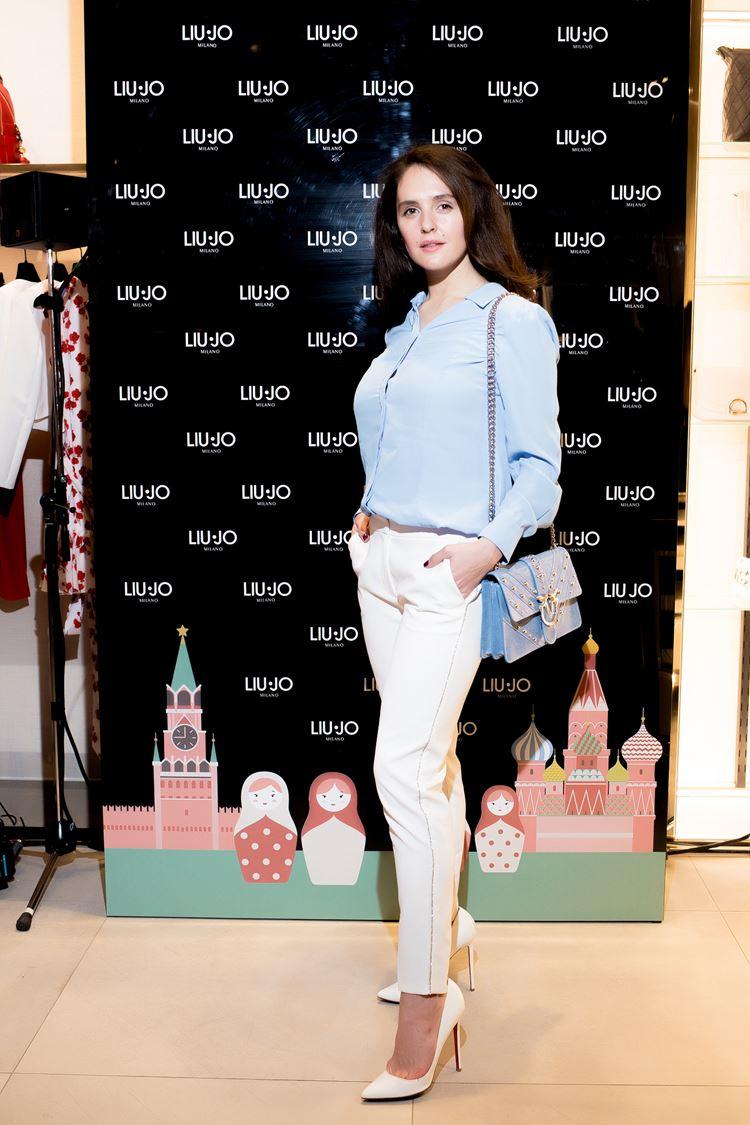 Открытие бутика LIU JO в Атриуме - март 2018 - Актриса Мария Шумакова