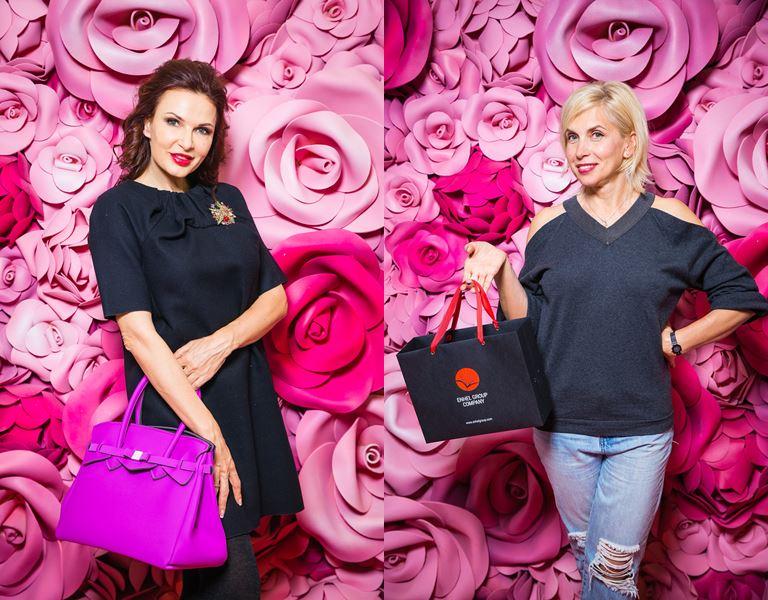 Звезды в «Саванне»: 15-летие салона красоты - Эвелина Блёданс и Алёна Свиридова