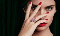 Сара Сампайо в рекламной кампании Graff Diamonds