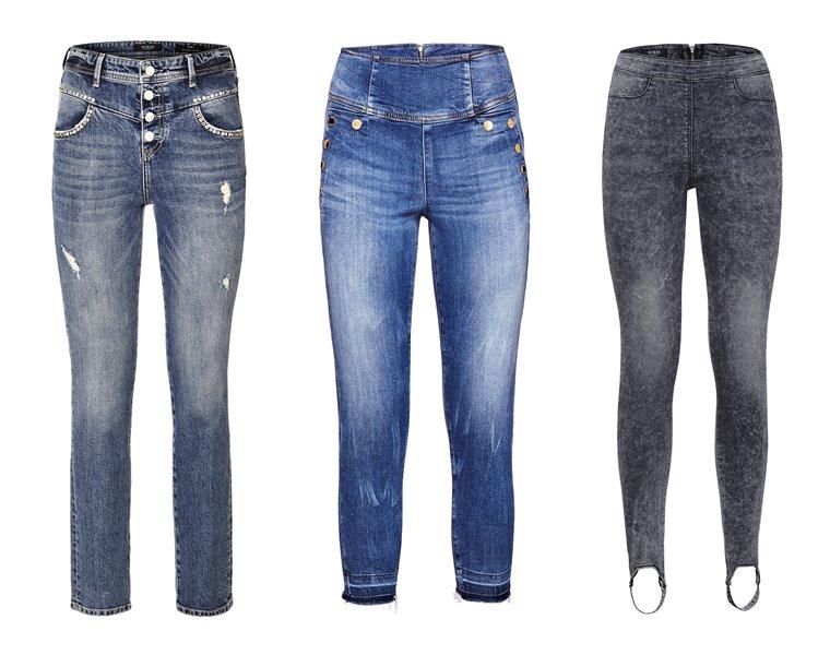 Женская коллекция Guess весна-лето 2018 - модные джинсы