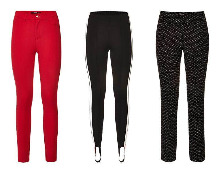 Женская коллекция Guess весна-лето 2018 - модные облегающие брюки