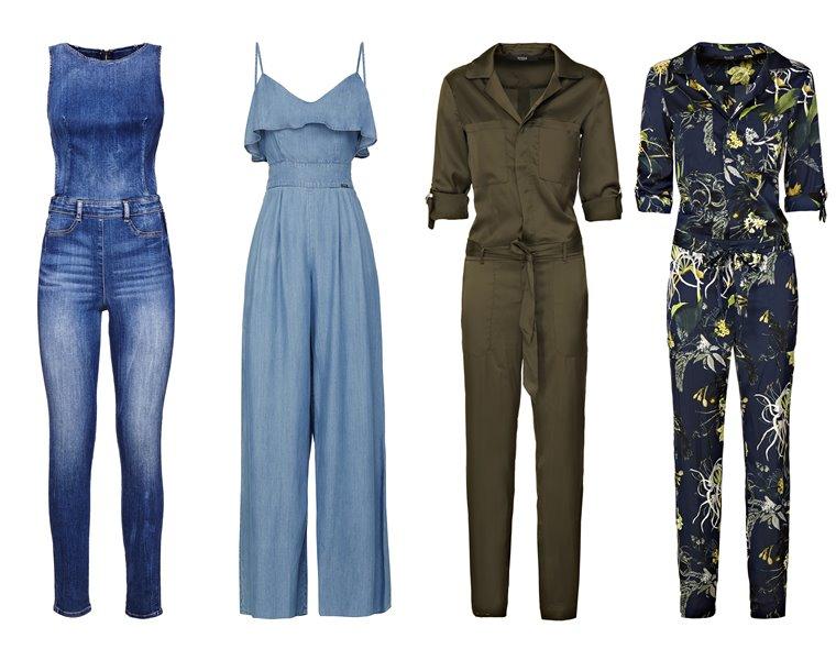 Женская коллекция Guess весна-лето 2018 - модные комбинезоны