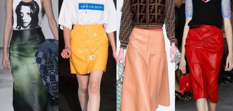 Женские юбки весна-лето 2018