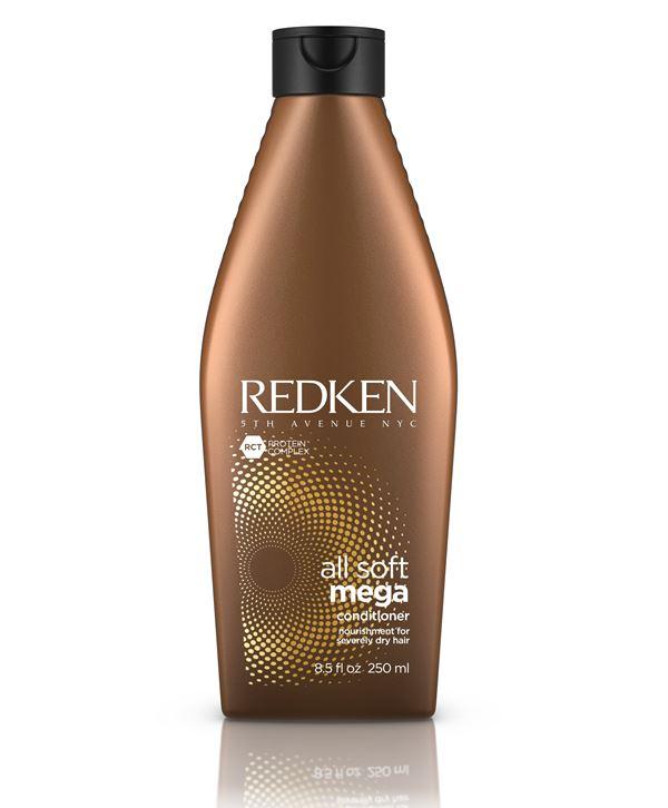 Ухаживающий кондиционер Redken All Soft Mega для очень сухих волос с экстрактами кактуса