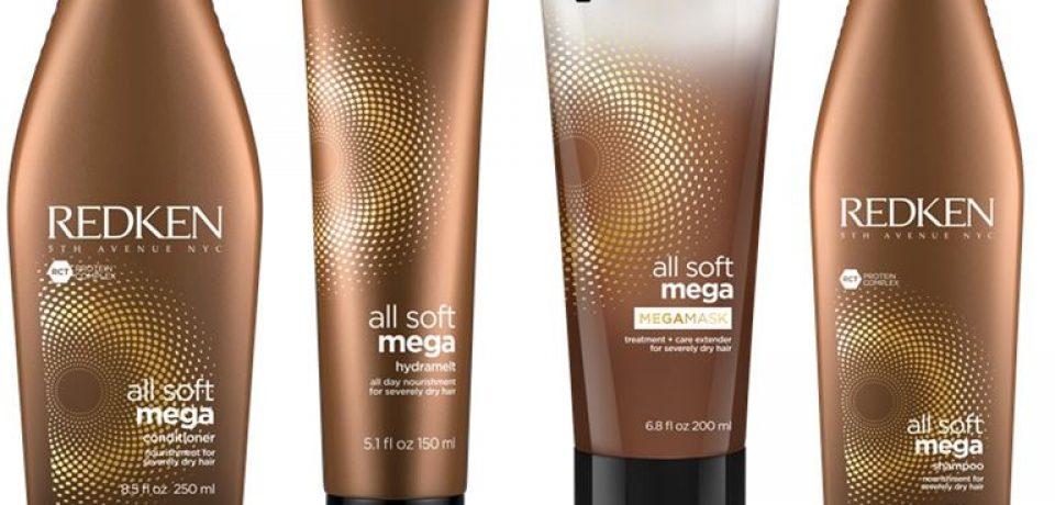 Redken All Soft Mega – увлажнение для очень сухих и жёстких волос