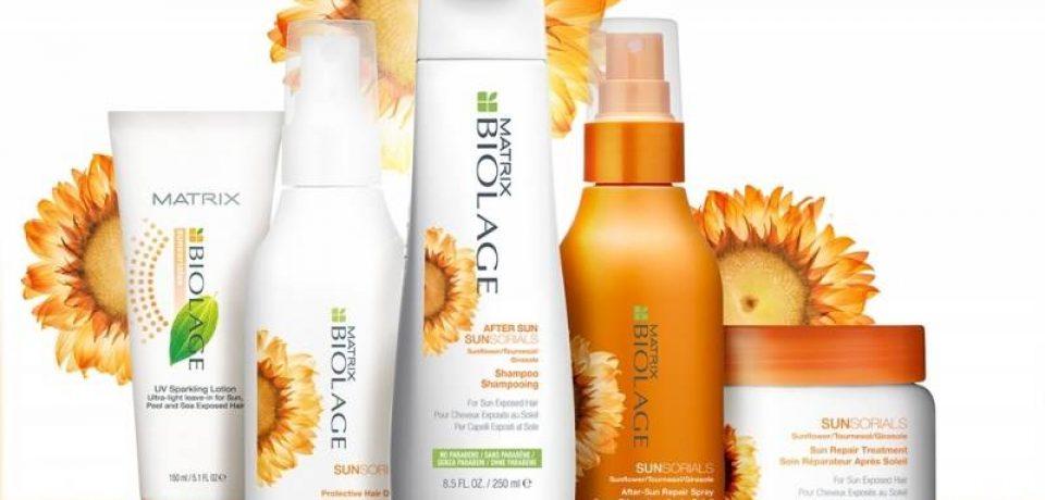 Biolage Sunsorials – солнцезащитная гамма для волос