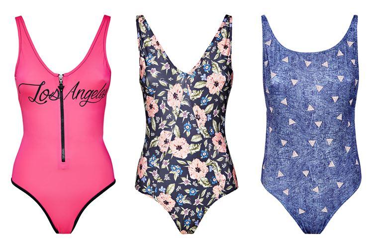 Пляжная коллекция Guess Beachwear весна-лето 2018 - сплошные купальники