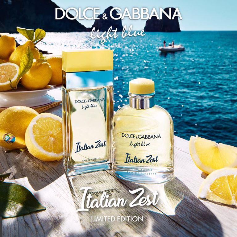Light Blue Italian Zest – новые ароматы Dolce & Gabbana на лето 2018