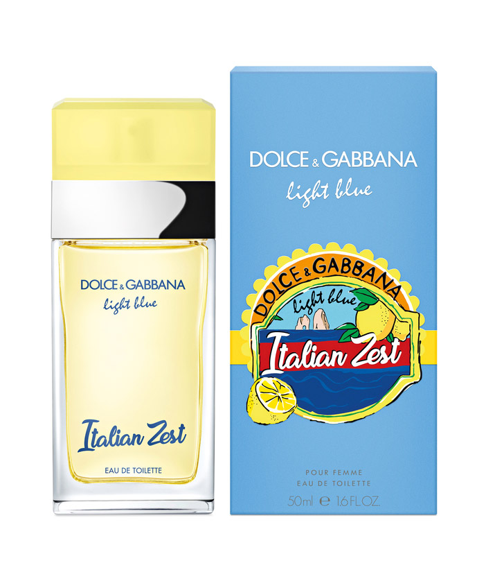 Женский аромат Dolce & Gabbana Light Blue Italian Zest