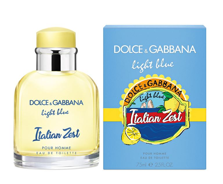 Мужской аромат Dolce & Gabbana Light Blue Italian Zest