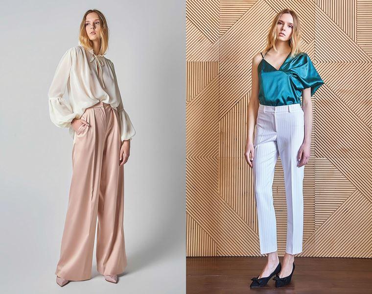 Коллекция Girlpower Label весна-лето 2018 -  блузка и брюки