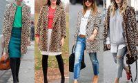 Как носить леопардовое пальто – 10 модных правил