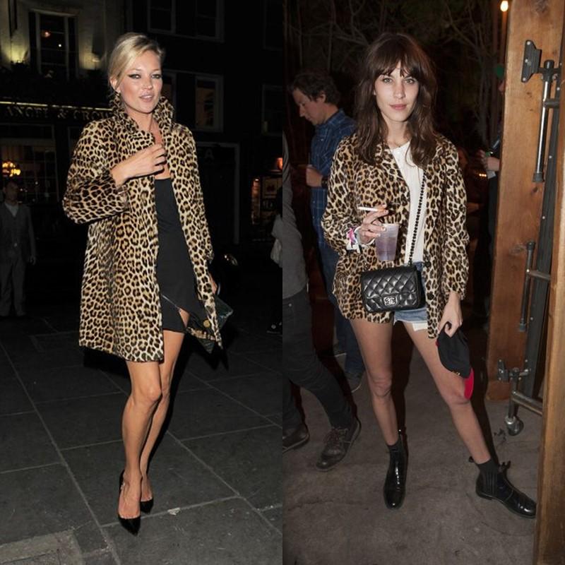 Как носить леопардовое пальто – мини платья и юбки