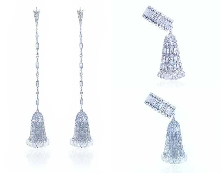 Ювелирный бренд KoJewelry - коллекция 2018-2019 - подвески-кисточки из золота