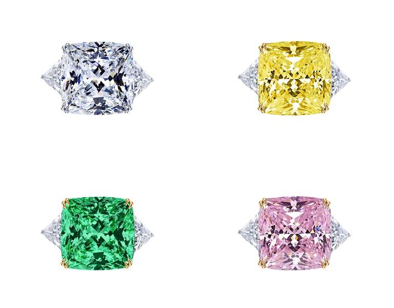Ювелирный бренд KoJewelry - коллекция из золота 750 пробы с цветными камнями
