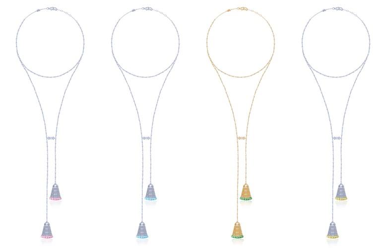 Ювелирный бренд KoJewelry - коллекция из золота 750 пробы - тонкие цепочки с подвесками