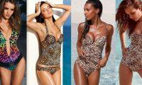 Хищники на пляже: 14 звёзд в леопардовых купальниках