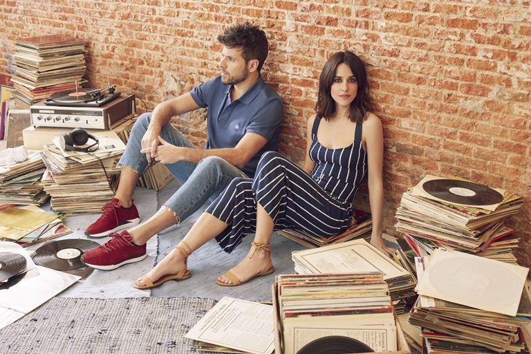 Рекламная кампания Springfield весна-лето 2018 -  Макарена Гарсия и Пабло Лопес
