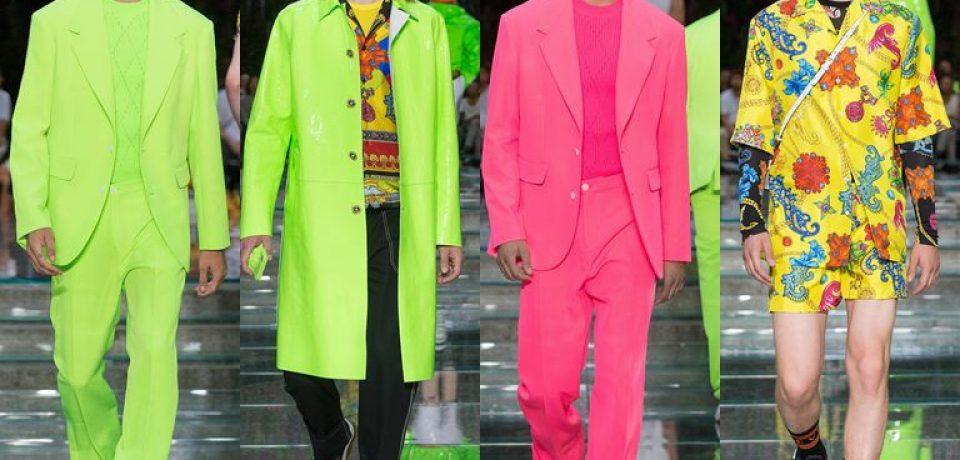 Мужская коллекция Versace весна-лето 2019