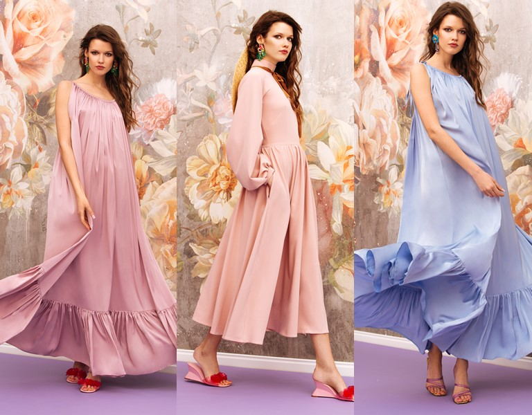 Круизная коллекция-2018 от Yulia Prokhorova Beloe Zoloto - широкие летние платья