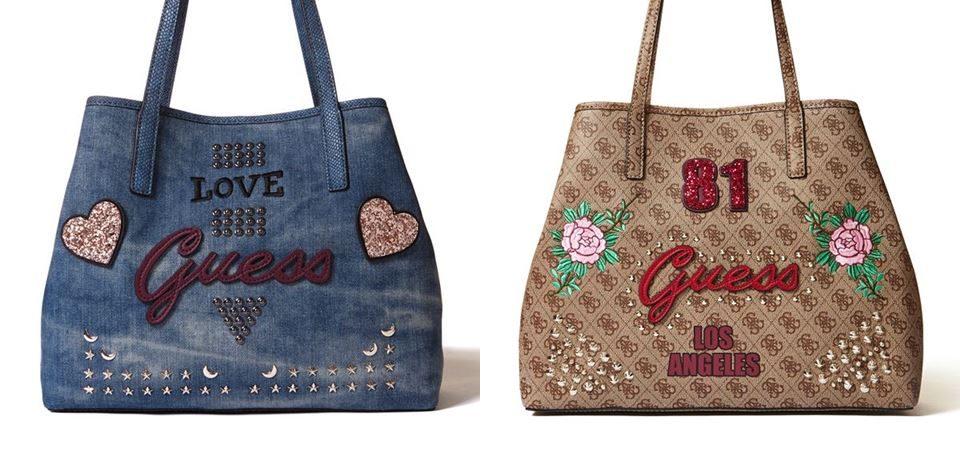 Новая сумка GUESS Vikky – городской шик и удобство