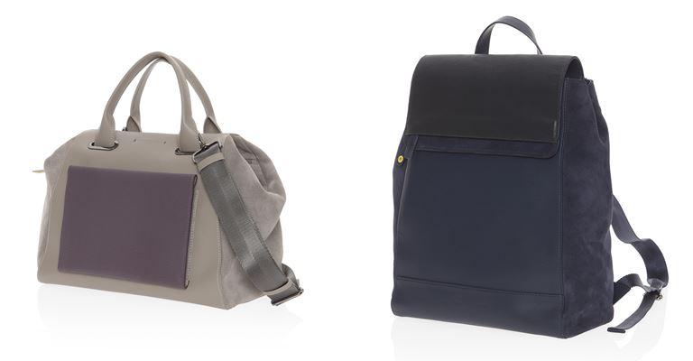 Коллекция сумок Mandarina Duck осень-зима 2018-2019 - Forma - сумки из кожи и замши
