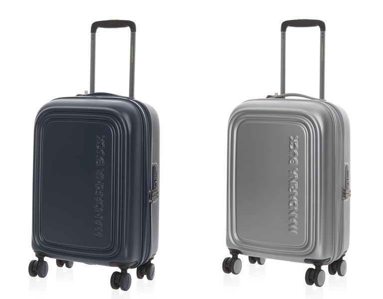 Коллекция сумок Mandarina Duck осень-зима 2018-2019 - чемоданы Logoduck+