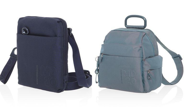 Коллекция сумок Mandarina Duck осень-зима 2018-2019 - MD20 - планшет и рюкзак