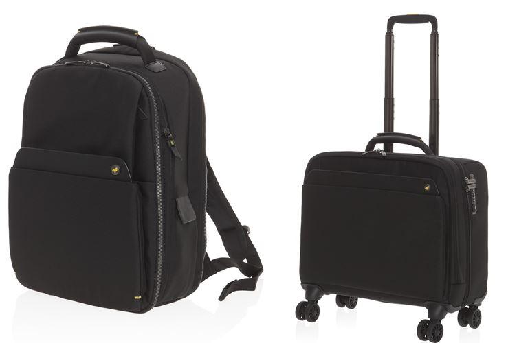 Коллекция сумок Mandarina Duck осень-зима 2018-2019 - Mr Duck - черные чемоданы