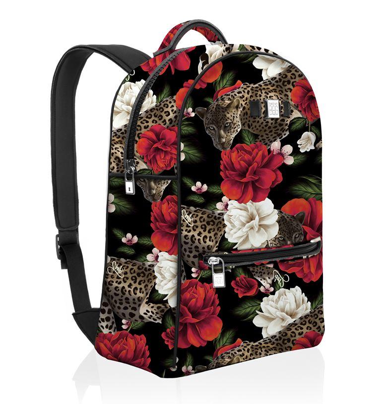 Save My Bag представил новый принт в коллекции Pre-Fall 2018 - цветочный рюкзак