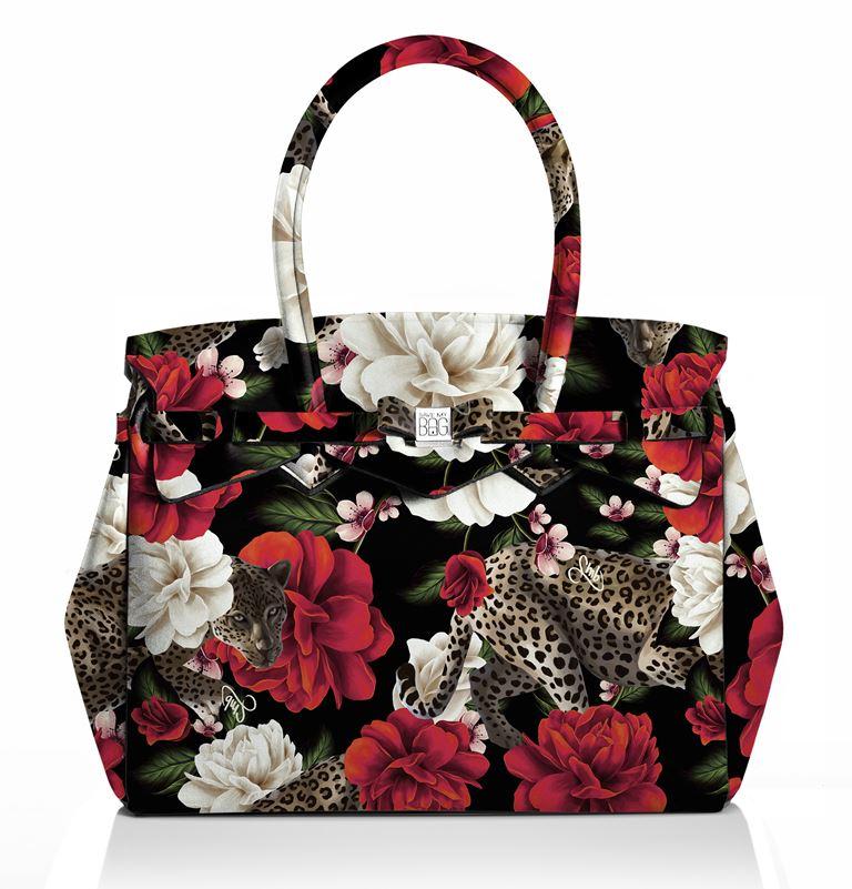 Save My Bag представил новый принт в коллекции Pre-Fall 2018 - цветочная сумка tote