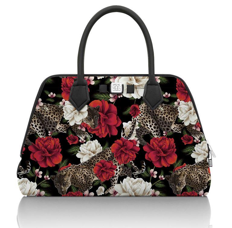 Save My Bag представил новый принт в коллекции Pre-Fall 2018 - цветочная сумка деловой стиль