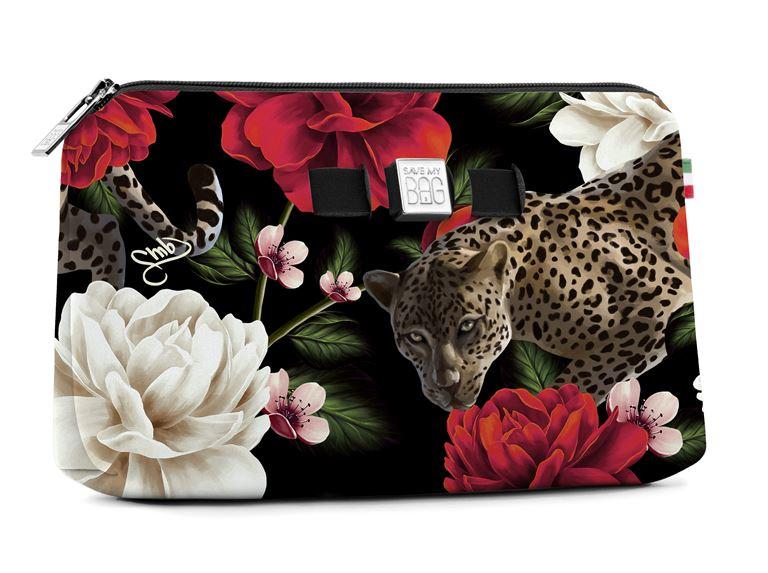 Save My Bag представил новый принт в коллекции Pre-Fall 2018 - цветочная сумка-клатч на молнии