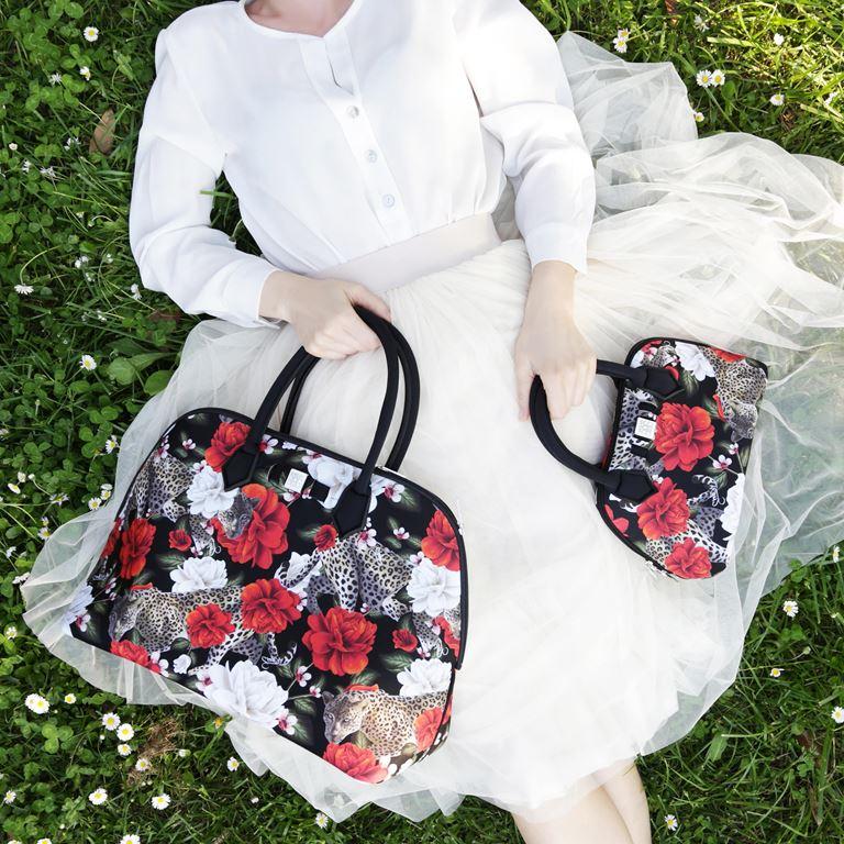 Save My Bag линия сумок Princess в коллекции Pre-Fall 2018 - цветочный принт