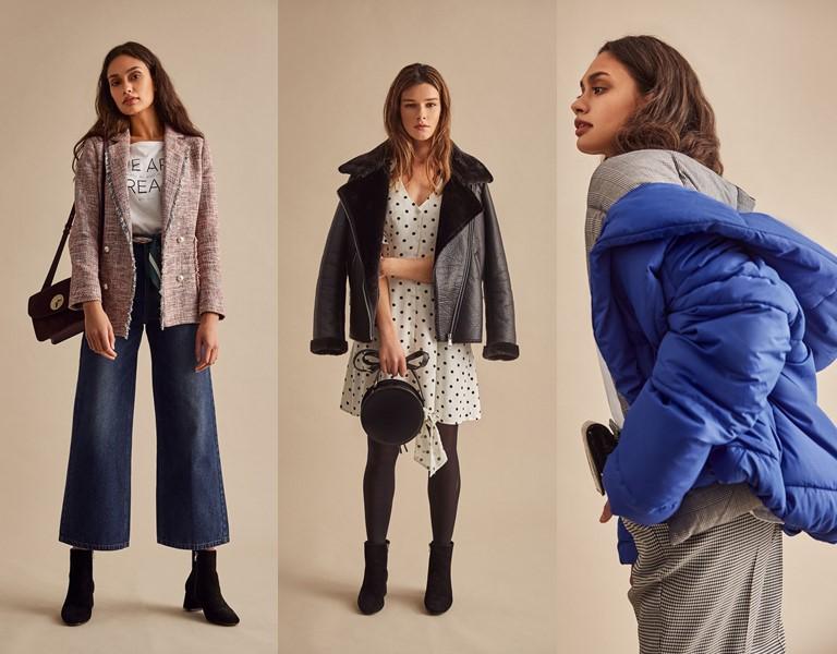 Женская коллекция Springfield осень-2018
