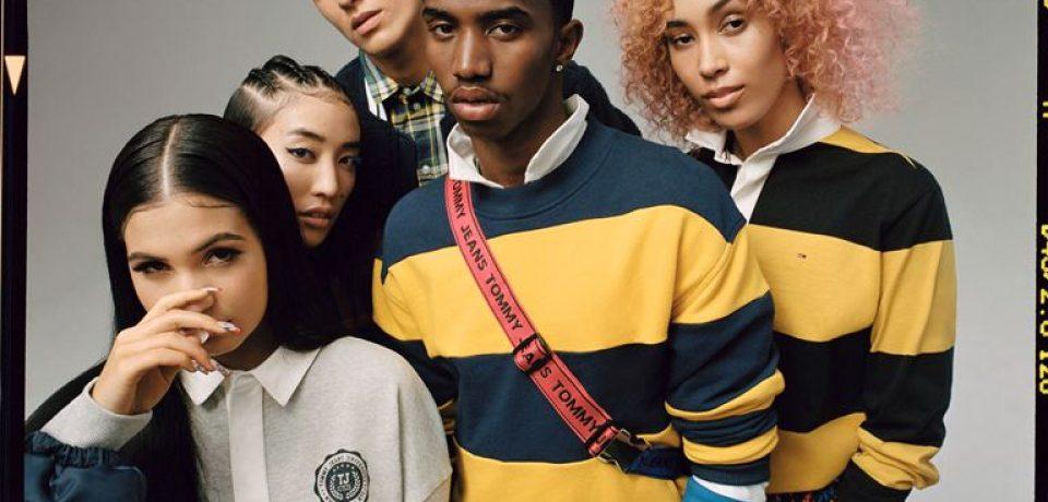 Рекламная кампания Tommy Jeans осень-2018