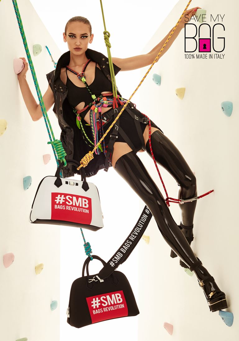 Лукбук коллекции сумок Save My Bag осень-зима 2018-2019 - фото 1