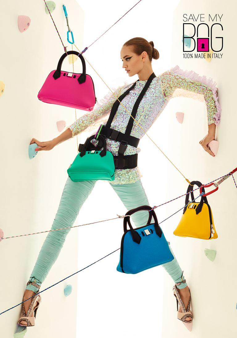 Лукбук коллекции сумок Save My Bag осень-зима 2018-2019 - фото 5