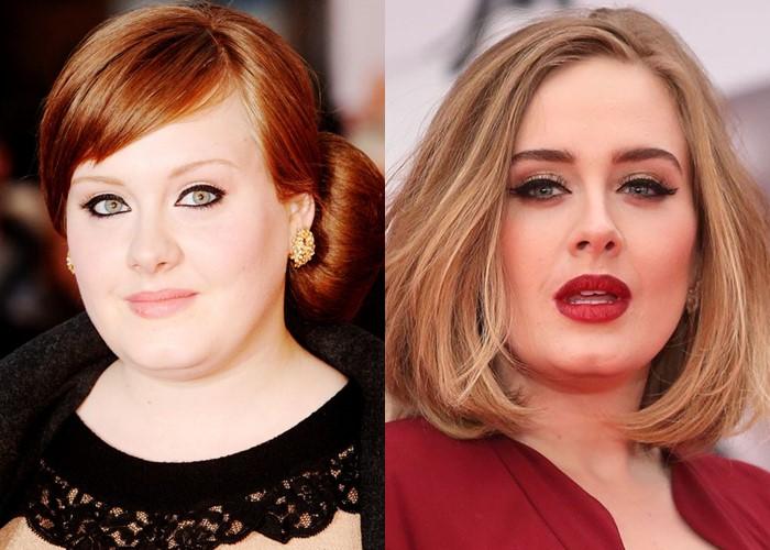 10 звёзд, демонстрирующих, как брови меняют лицо - Адель