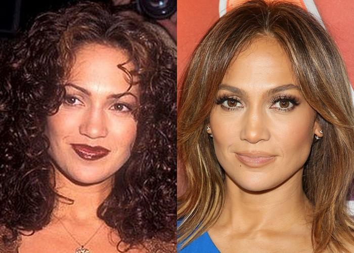 10 звёзд, демонстрирующих, как брови меняют лицо - Дженнифер Лопес