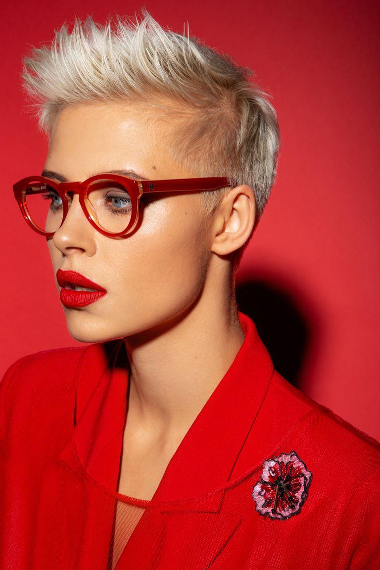 Коллекция очков ALEXANDR ROGOV х HarryCooper - красные женские