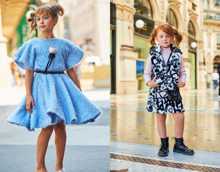 «Анти-принцесса» - детская коллекция Choupette для девочек осень-зима 2018-2019 - фото 1