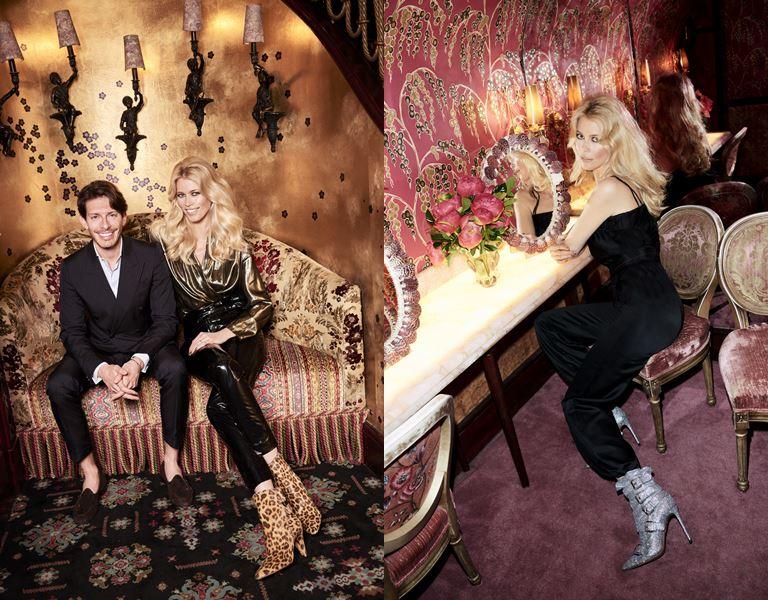Aquazzura и Клаудия Шиффер выпустили капсульную коллекцию обуви