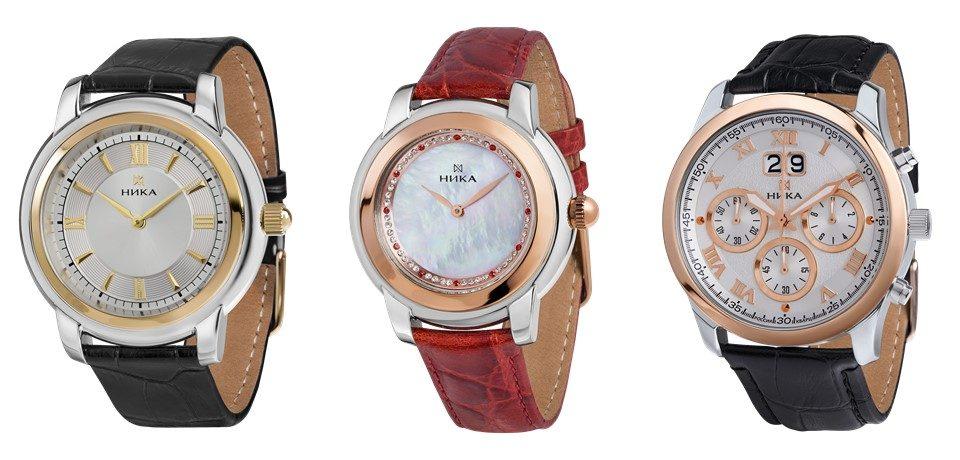 Часовой завод НИКА представил часы, выполненные в технике БИКОЛОР