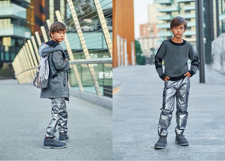 «Прогулка по Луне» - коллекция Choupette для мальчиков осень-зима 2018-2019 - фото 1