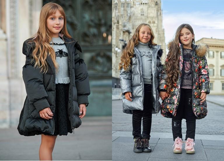 «Магия света» - детская коллекция для девочек Choupette осень-зима 2018-2019 - пуховики