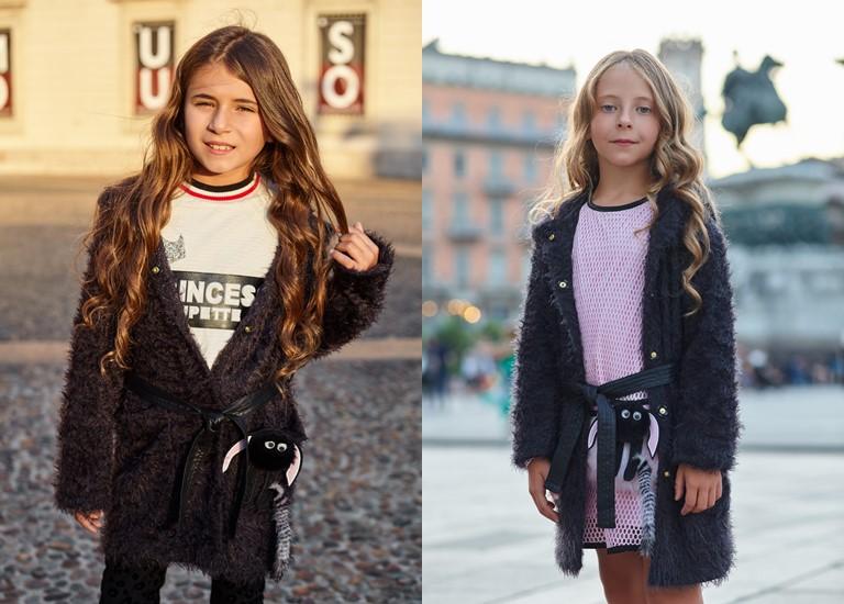 «Магия света» - детская коллекция для девочек Choupette осень-зима 2018-2019 - кардиганы