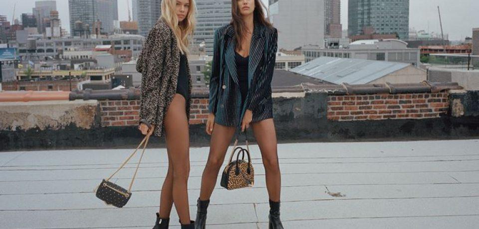 Ирина Шейк и Стелла Максвелл создали эксклюзивные сумки для The Kooples