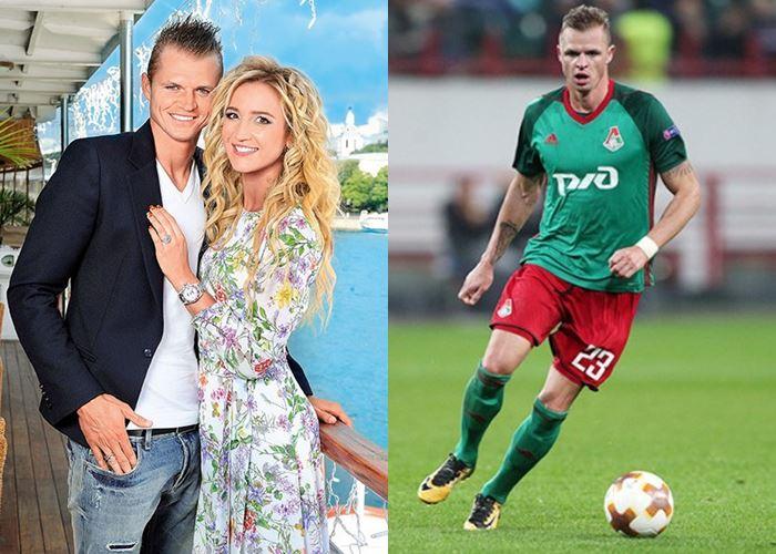 Жёны и подружки футболистов - Ольга Бузова и Дмитрий Тарасов
