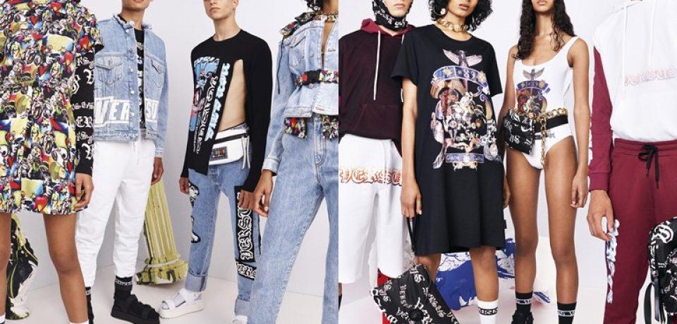 Коллекция Versus Versace весна-лето 2019